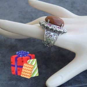 Jewelry - NEW Goldstone Ring